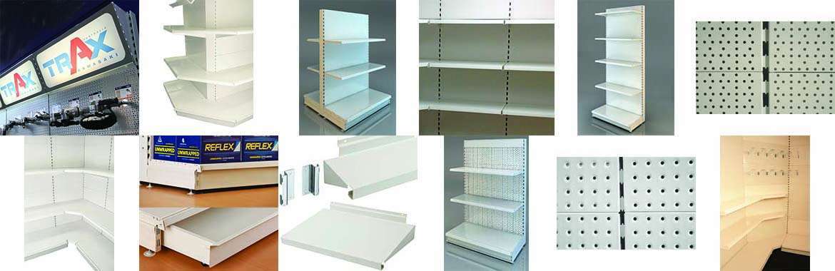 OUR COMMERCIAL SHELVING SYSTEM
