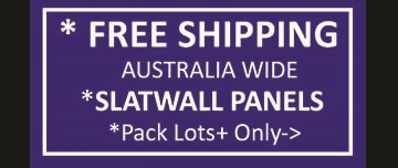 Free Freight Slatwall Panels Pack Lots