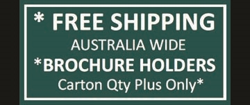 Free Freight Brochure Holders