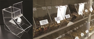 FOOD CONTAINER DISPLAYS