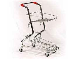 Basket Shopper Trolley Excludes Baskets