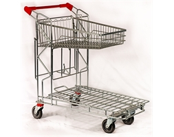 Cash and Carry Liquor Trolley Tilt Top Basket
