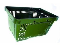 PREMIUM SHOPPING BASKET Green - Ttl Qty = 180