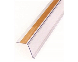 Clear Angle Adhesive Data Strip 1200x26mm