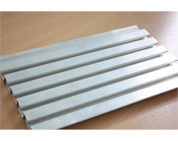 5m x 025mm All Aluminium Slat Panel Ano