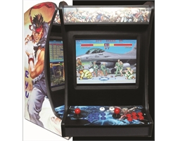 BARTOP packed with 1496 Games with Decal Side Panels