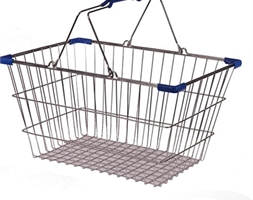 LGE Wire Basket Blue Trim
