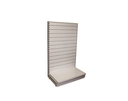 1000W/1500H S/S ADD-ON Slat-W back & 470mm base