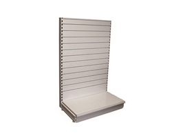 1000W/1800H S/S ADD-0N Slat-W back & 470mm base