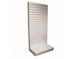 1000W/2100H S/S ADD-0N Slat-W back & 470mm base