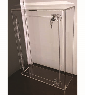 600mm H - Display Case Wallmount