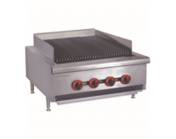 LPG Gas 4 Burner Char Grill Top