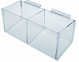 Hosiery 2 Compartment 450mm L