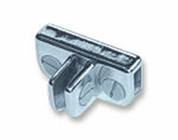 Glass Cube Connector 3 Way Adjustable