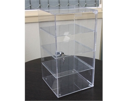 470mm H - Display Case Front Lockable