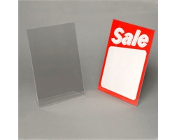 A5 Portrait Angled Card Holder 2mm