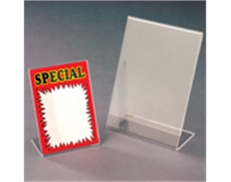 A4 Portrait Angled Card Holder