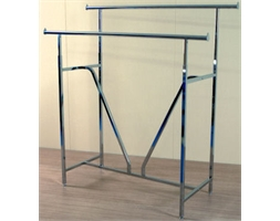 Display Rail Double Bar
