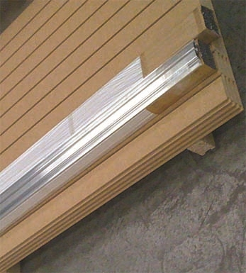 Slat Grooved-PAINT READY RAW MDF MR 100mm Slat