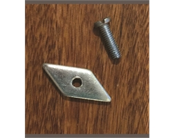 Threaded Plate & Screw