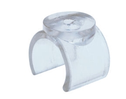 Shelf Support Clear Plastic