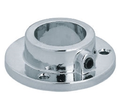 Tubing 25mm Dia Wall Flange