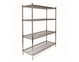 4 SHELF KITS 1200H X 600W X 450D