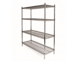 4 SHELF KITS 1500H X 600W X 450D