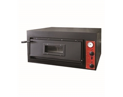 Black Panther from Germany - Pizza Single Deck Oven Deep up to 7 pizzas