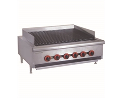 Natural Gas 6 Burner Char Grill Top