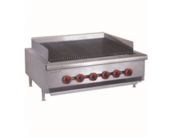 LPG Gas 6 Burner Char Grill Top