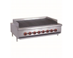 Natural Gas 8 Burner Char Grill Top