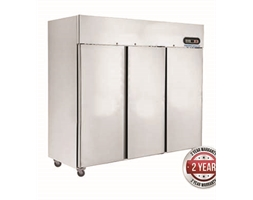 1500 TROPICAL Thermaster 3 Door SS Fridge 1500L