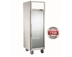 500 Single Door Upright Display Fridge