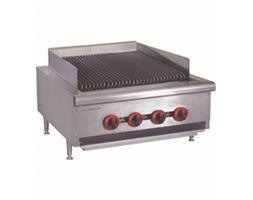 Natural Gas 4 Burner Char Grill Top