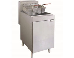 Superfast Natural Gas Tube Twin Vat Fryer
