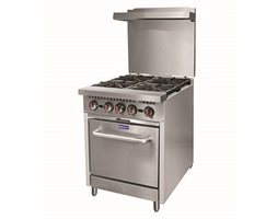 Gasmax 4 Burner with Oven Flame Failure