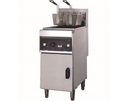 ELECTRIC FRYER with COLD ZONE