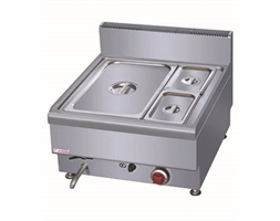 2 Bain Marie With 1/1 GN Pan & Lid