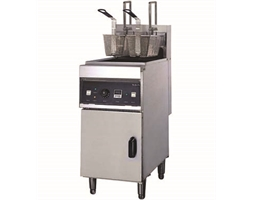 AUTO-LIFT ELECTRIC FRYER with COLD ZONE