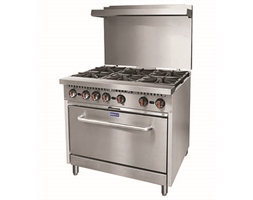 Gasmax 6 Burner with Oven Flame Failure