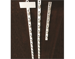 Hang Sell 12 Station Clip Strip NO PLATE Plastic H/Duty