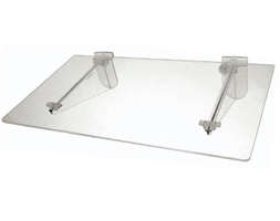 KIT Flat Shelf Acrylic Inc Brackets