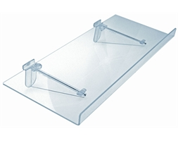 KIT 560 X 230mm Flat Shelf with 30mm Lip Inc Brackets