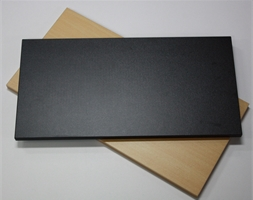 0600 x 0300mm BLACK P/Board Shelf - Per Pk 2