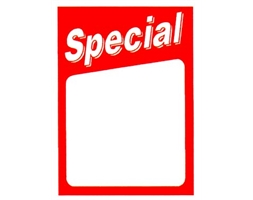 Non-Reusable Special Showcard A4 Pack of 25