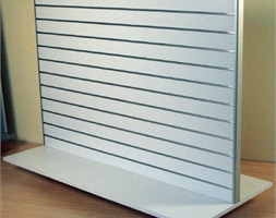 D/Sided Gondola 1300H x 1200mm Wide WHT