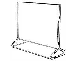 A5 Portrait Vertical Info Holder Top Load