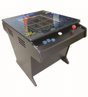 Cocktail Table Top Classic 60 GAMES with Decal Sides