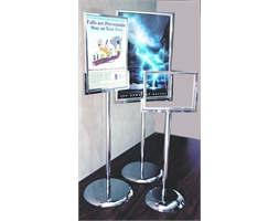 A2 Landscape Poster Stand Deluxe